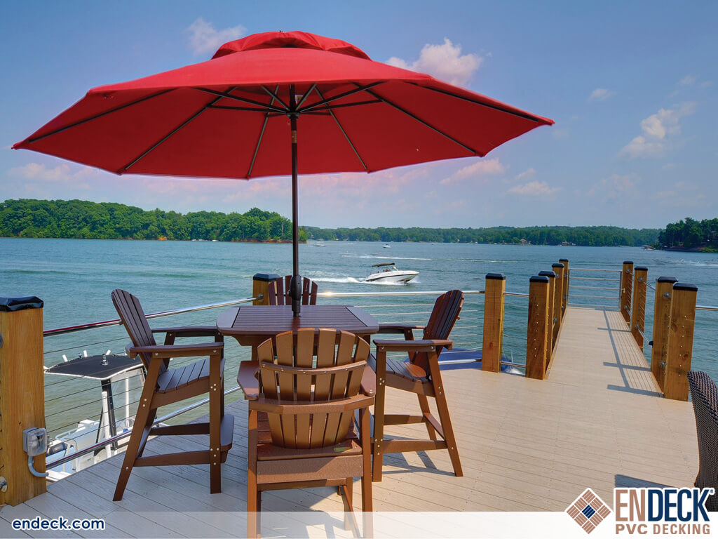 Marinas Require the Durability of PVC Decking in Docks - Marinas - Boardwalks photo gallery from Endeck PVC Decking