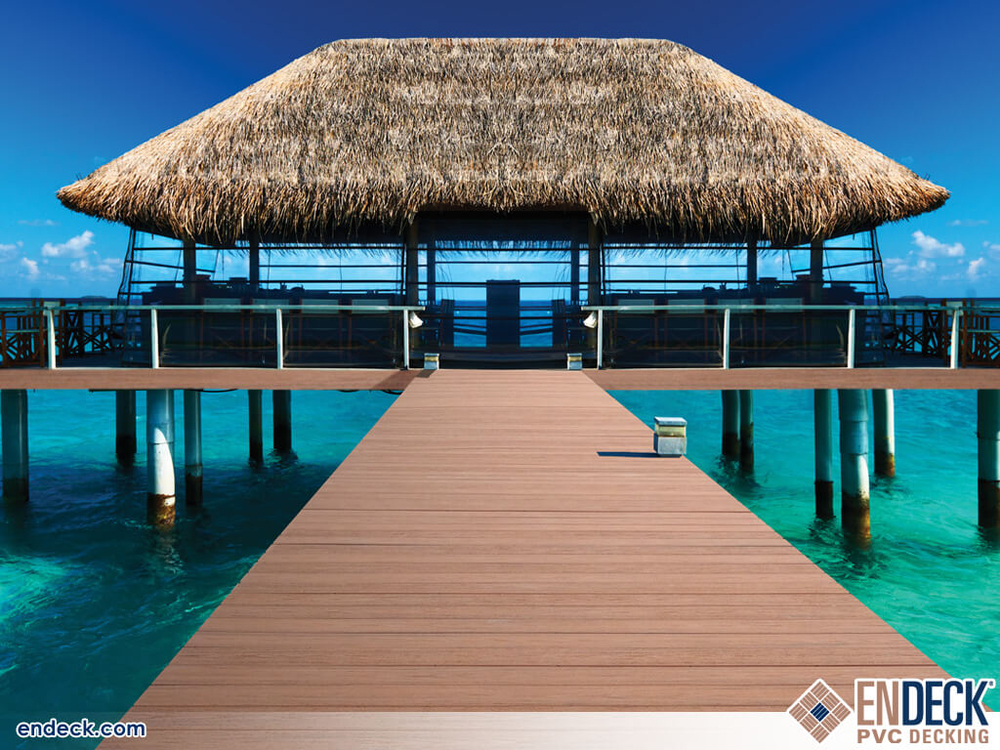 Saltwater Friendly Decking in Docks - Marinas - Boardwalks photo gallery from Endeck PVC Decking