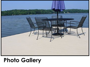 Endeck PVC Decking Photo Gallery