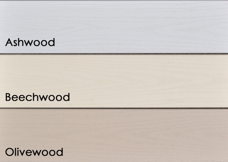 Endeck PVC Decking Woodland Series: Olivewood, Beechwood, and Ashwood
