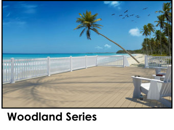 Endeck Woodland Series PVC Decking